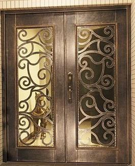 Herreria carmona puertas de forja - Puertas forja exterior ...